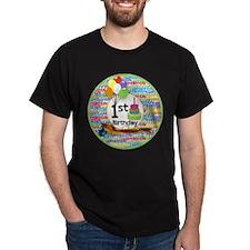 First Birthday Milestone T-Shirt