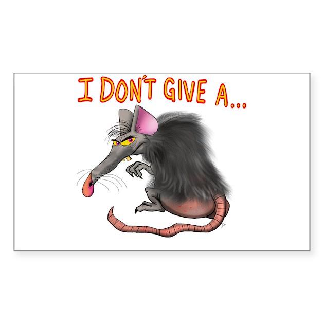 origin of give a rats ass