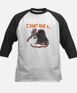 I Don't give a rats ass... Baseball Jersey