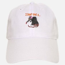 I Don't give a rats ass... Baseball Baseball Cap