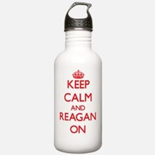 Keep Calm and Reagan O Sports Water Bottle