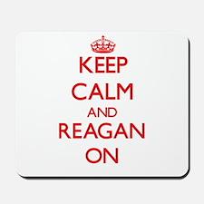 Keep Calm and Reagan ON Mousepad