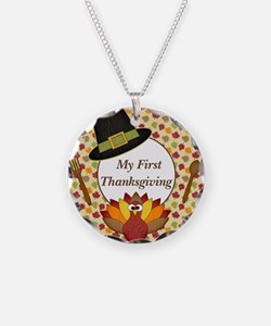 My First Thanksgiving Milestone Necklace