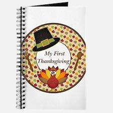 My First Thanksgiving Milestone Journal