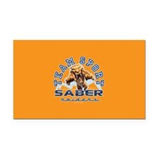 Ice Age Diego Saber Raider Rectangle Car Magnet