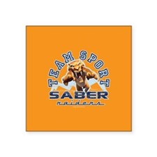 "Ice Age Diego Saber Raider Square Sticker 3"" x 3"""