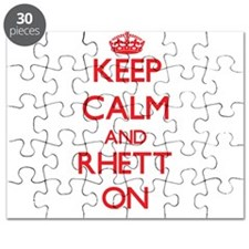 Keep Calm and Rhett ON Puzzle