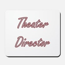 Theater Director Artistic Job Design Mousepad