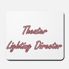 Theater Lighting Director Artistic Job D Mousepad