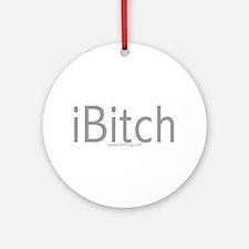 iBitch Ornament (Round)