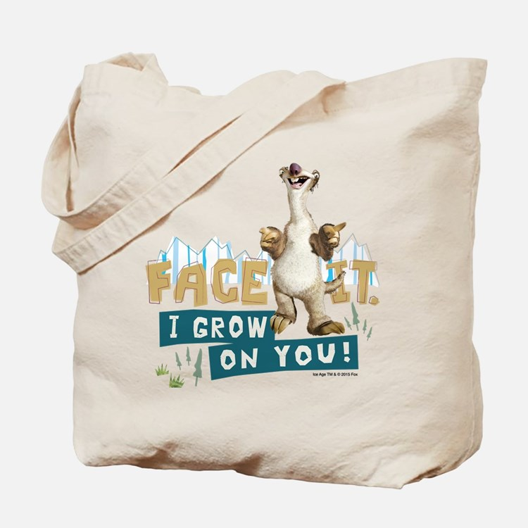 Ice Age Sid Grows on You Tote Bag