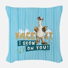 Ice Age Sid Grows on You Woven Throw Pillow