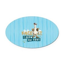 Ice Age Sid Grows on You Oval Car Magnet