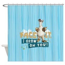 Ice Age Sid Grows On You Shower Curtain