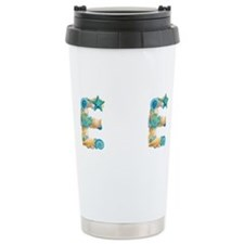 Unique Initial e Travel Mug
