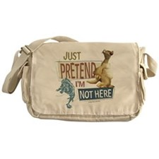 Ice Age Side Pretend I'm Not Here Messenger Bag