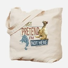 Ice Age Side Pretend I'm Not Here Tote Bag