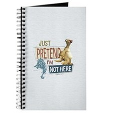 Ice Age Side Pretend I'm Not Here Journal
