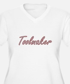 Toolmaker Artistic Job Design Plus Size T-Shirt