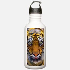 Tiger Portrait Water Bottle