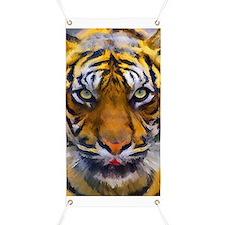 Tiger Portrait Banner