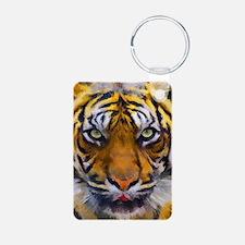 Tiger Portrait Keychains
