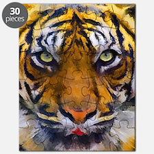 Tiger Portrait Puzzle
