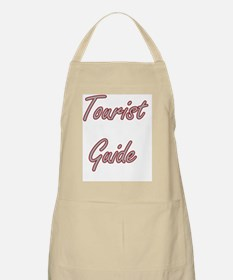 Tourist Guide Artistic Job Design Apron