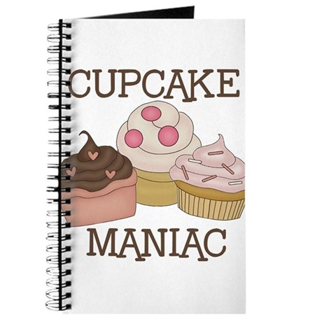 Cupcake Maniac Journal