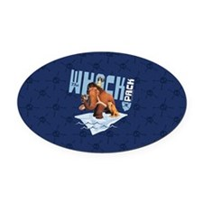 Ice Age The Whack Pack Oval Car Magnet
