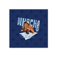 """Ice Age The Whack Pack Square Sticker 3"""" x 3"""""""