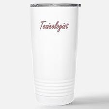 Toxicologist Artistic J Stainless Steel Travel Mug