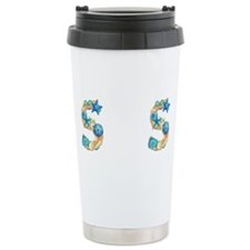 Cute Beach wedding Travel Mug