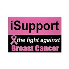 Fight Against Breast Cancer Rectangle Magnet (10 p