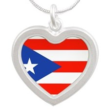 Boricua Bandera Puerto Rican Orgullo 4 E Necklaces