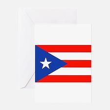 Boricua Bandera Puerto Rican Orgull Greeting Cards