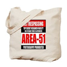 AREA-51 Tote Bag