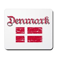 Danish Flag Mousepad
