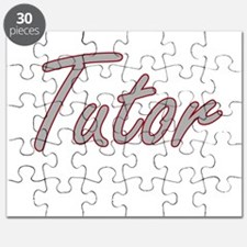 Tutor Artistic Job Design Puzzle
