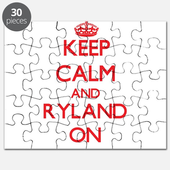 Keep Calm and Ryland ON Puzzle