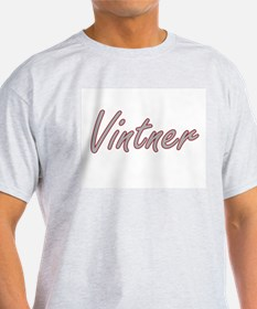 Vintner Artistic Job Design T-Shirt