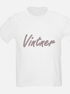 Vintner Artistic Job Design T-Shirt