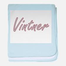 Vintner Artistic Job Design baby blanket