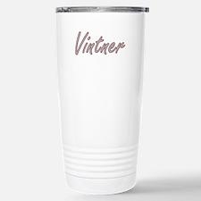 Vintner Artistic Job De Travel Mug