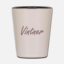 Vintner Artistic Job Design Shot Glass