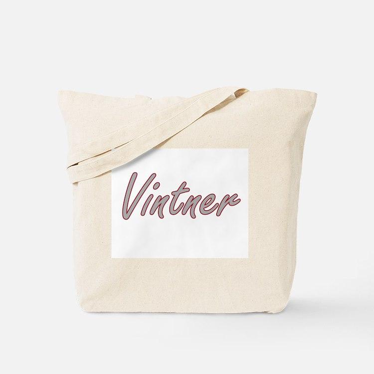 Vintner Artistic Job Design Tote Bag