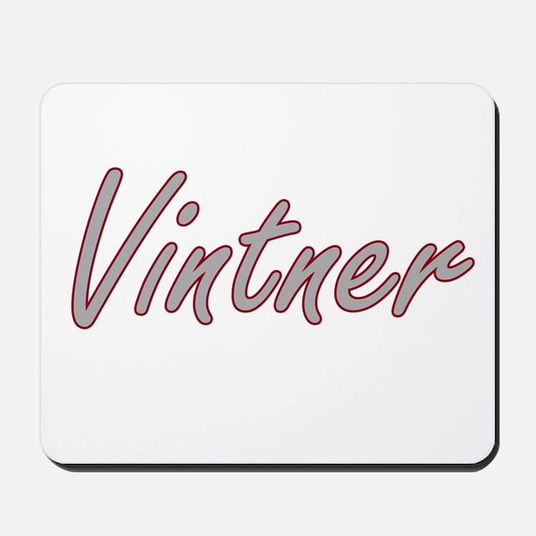 Vintner Artistic Job Design Mousepad