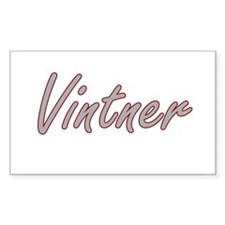 Vintner Artistic Job Design Decal