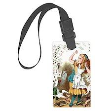 Alice In Wonderland  Luggage Tag