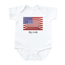 USA 3 Flags Infant Bodysuit